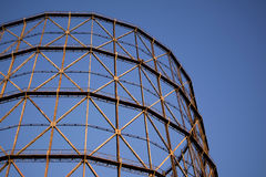 Old gasometer in Rome Stock Images