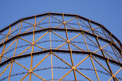 Old gasometer in Rome Royalty Free Stock Images