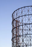 Old gasometer in Rome Royalty Free Stock Image