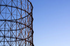 Old gasometer in Rome Stock Photos