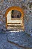 Old gate. In the Palamidi fortress, Nafplio, Greece Stock Image