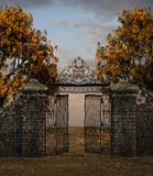 Old gate Stock Photography