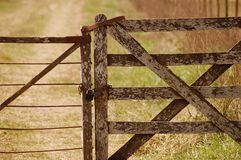 Old gate Royalty Free Stock Photo