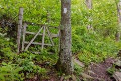 Old Gate along Appalachian Trail Royalty Free Stock Photos
