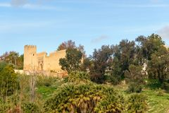 Gate Bab Al Amer in Fes. Morocco. Old gate Bab Al Amer in Fes. Morocco Stock Image