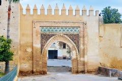 Gate Bab Al Amer in Fes. Morocco. Old gate Bab Al Amer in Fes. Morocco Royalty Free Stock Photos