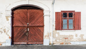 Old gate Royalty Free Stock Photography