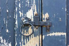 Old gate latch Stock Images