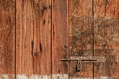 Old Gate Latch Stock Photo