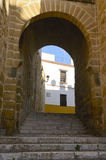 Old gate in Marchena Stock Photography