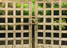 Old gate Stock Image