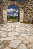 The Old Gate Of Monastery Studenica Royalty Free Stock Photos