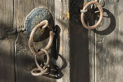 Old gate. In Nesebar, Bulgaria Royalty Free Stock Photos