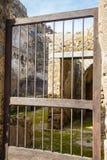 Old Gate in Pompeii Stock Photo