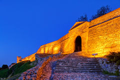 Old gate and stairs at Belgrade fortress Stock Photo