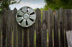The old gate to the garden. Royalty Free Stock Photos