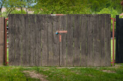 The old gate to the garden. Royalty Free Stock Image