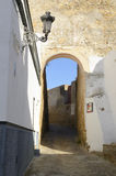 Old gate of the village of Marchena Stock Photography