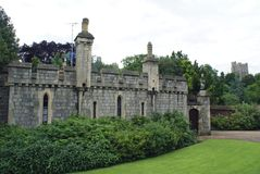 Old gatehouse at Windsor Castle in Berkshire, England, Europe Royalty Free Stock Image