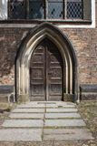 Old gates of church Royalty Free Stock Image