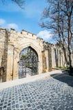 Old gates in Icheri Sheher Stock Photos