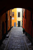 Old gateway in Stockholm Royalty Free Stock Photos