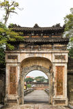An old gateway to the Citadel in Hue Vietnam Royalty Free Stock Images