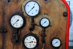 Old gauge background Royalty Free Stock Images