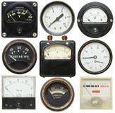 Old gauges Stock Photos