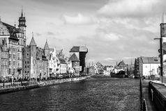 Old Gdansk harbor Royalty Free Stock Photos