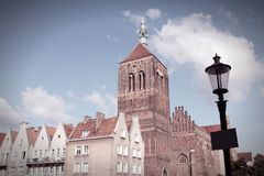 Old Gdansk Stock Images