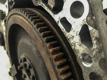 Old gear stock photography