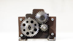 Old gears Stock Images