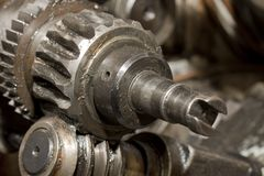Old Gears Stock Image
