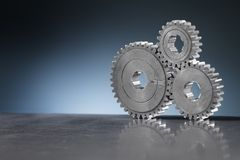 Old Gears Royalty Free Stock Photos