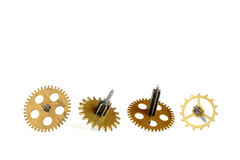 Old gears of clockwork Royalty Free Stock Image