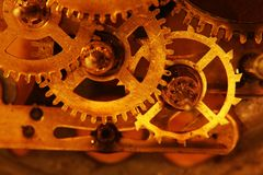 Old gears Royalty Free Stock Image