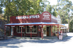 Old General Store Stock Photography
