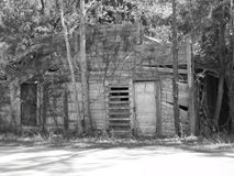 Old  general  store. This was taken in otter creek, florida of the old general store, this was shot in hdr an black & white together, this has been closed down Royalty Free Stock Images