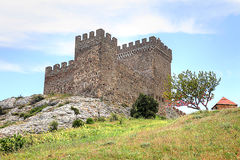 Old Genoese fortress Stock Photography
