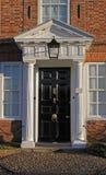 Old georgian doorway facade Stock Photo