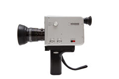 Old german 8mm camcorder Royalty Free Stock Images