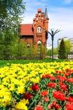 Old german architecture in Kaliningrad Stock Photo