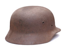 Old German army helmet Royalty Free Stock Photos