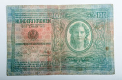 Old German banknotes, money Royalty Free Stock Images