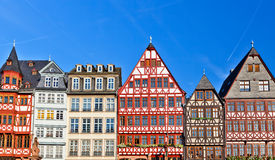 Old german buildings Royalty Free Stock Images