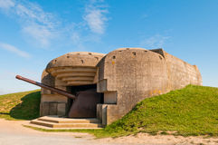 Old german bunker Stock Photo