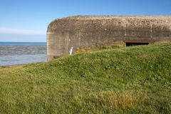 Old german bunker, Jersey, UK Royalty Free Stock Photos