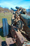Old German cannon Stock Photos
