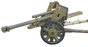 Old German cannon Stock Image